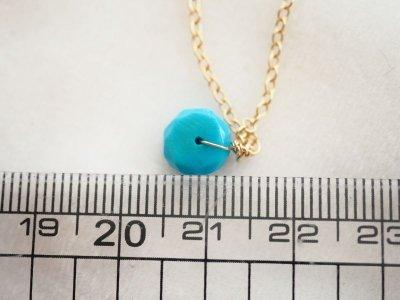 画像2: 極上ターコイズの大粒ネックレス